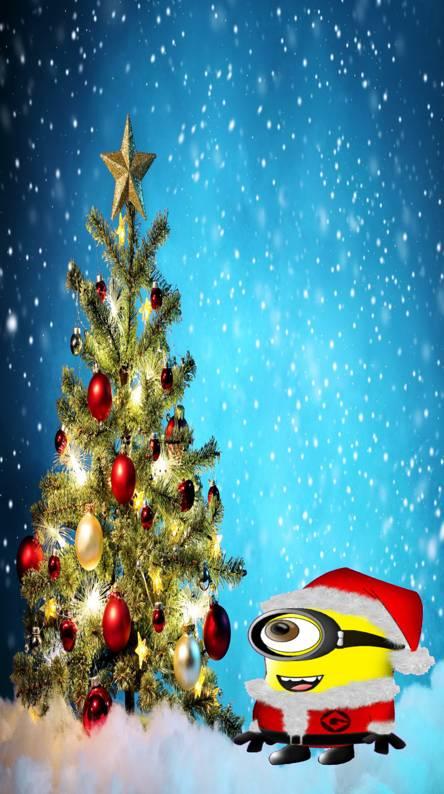 minion christmas tr - Minions Christmas Tree