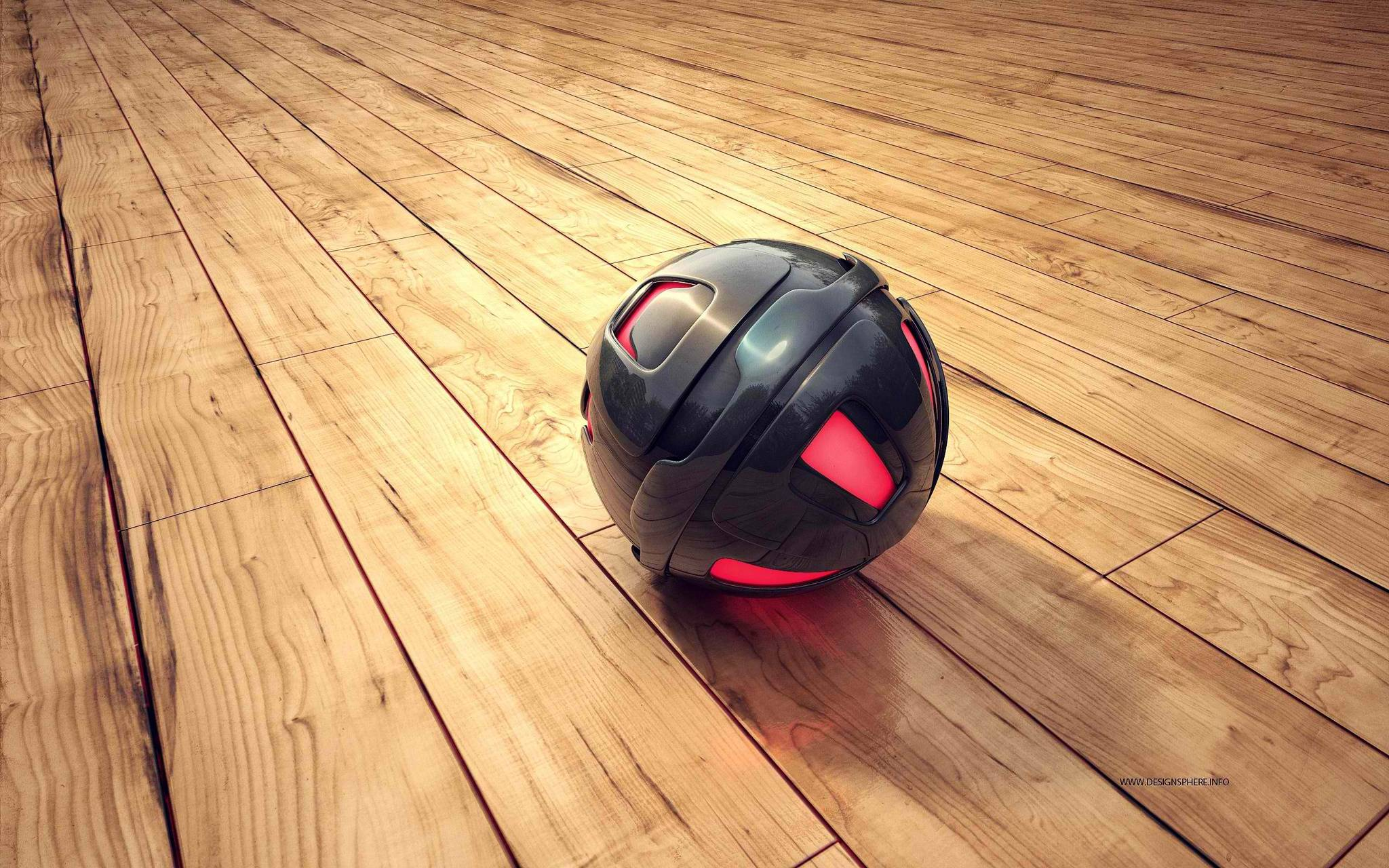 3d sphere wood