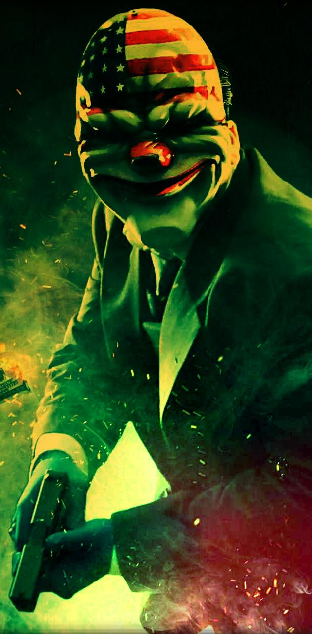 bank robbing clown