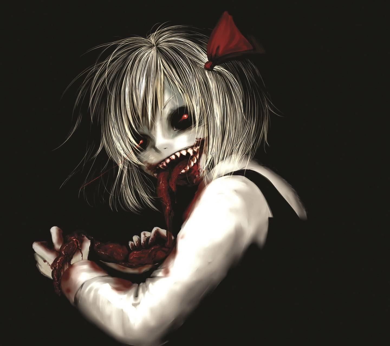 Dark Evil Girl
