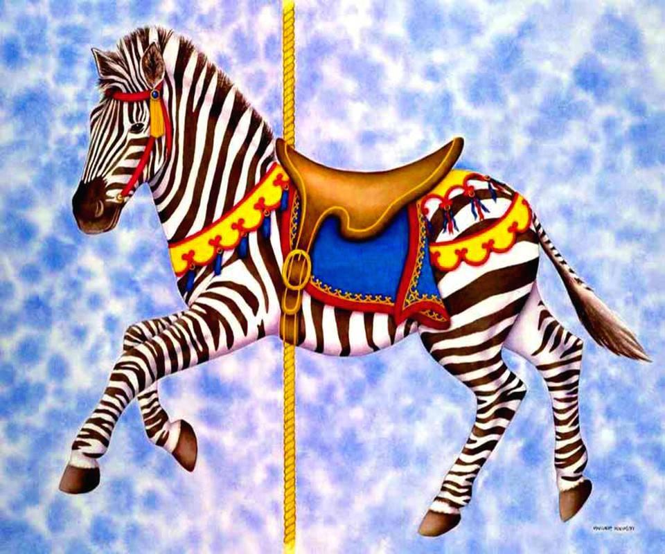 Carousl Zebra