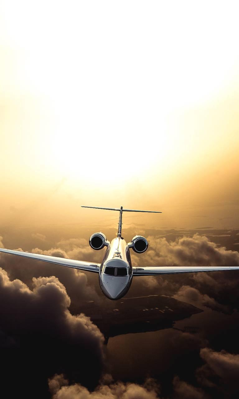 air plane jet sky