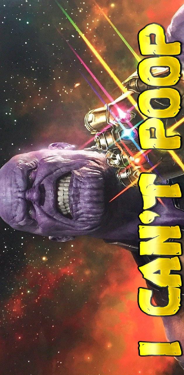 Thanos pooping