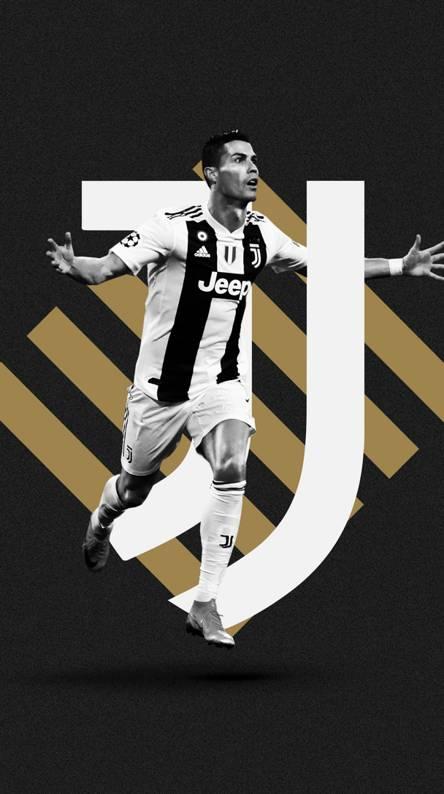 Cristiano Ronaldo Juventus Jersey Wallpaper