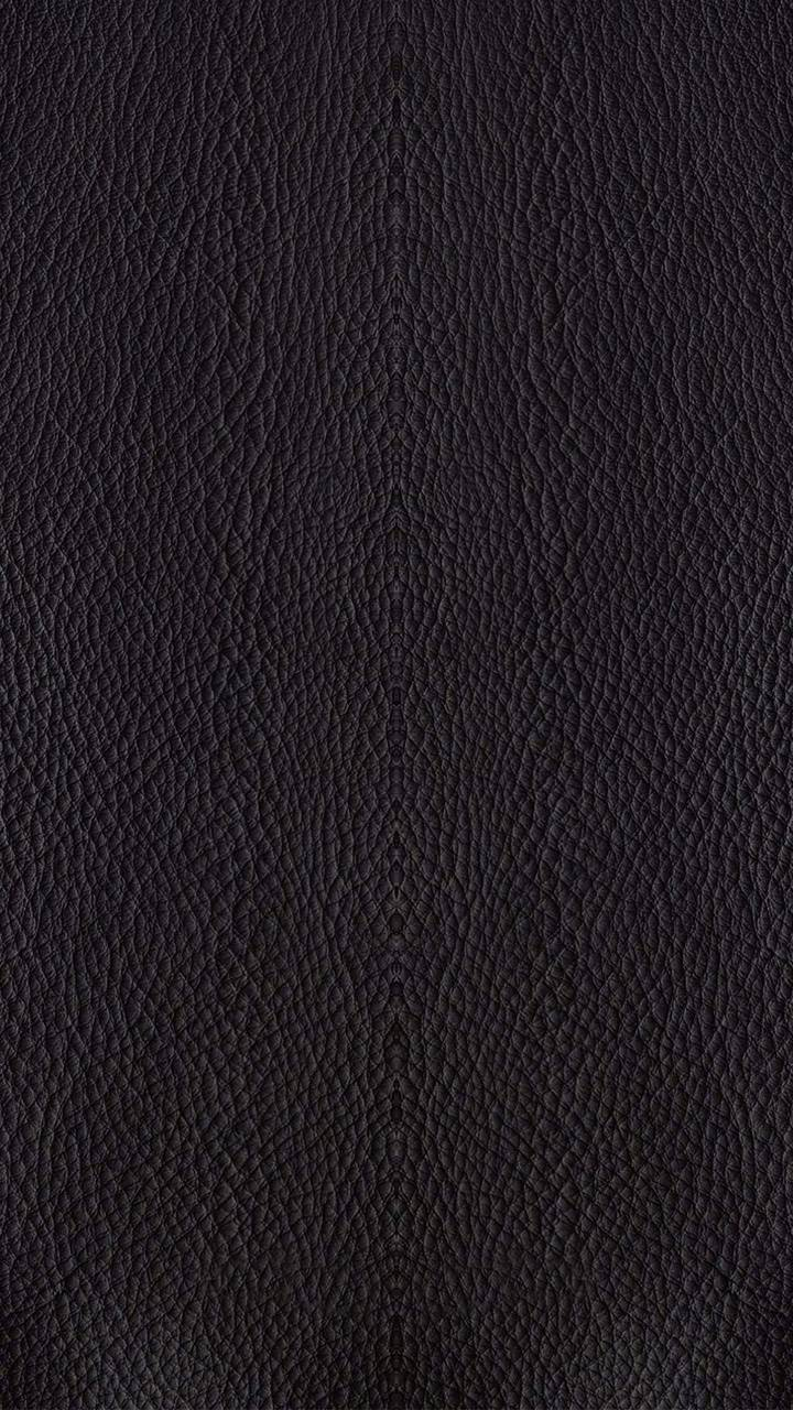 Pitch Black Leather