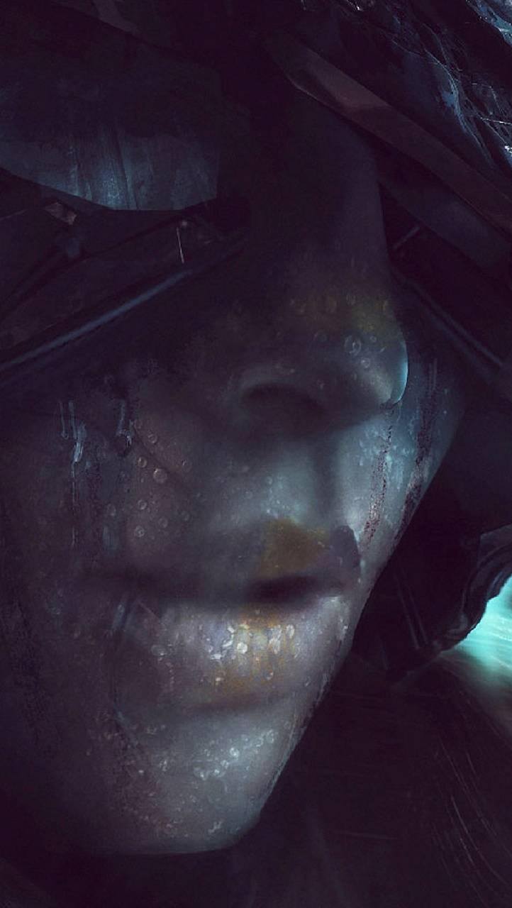 Sci Fi Woman Face