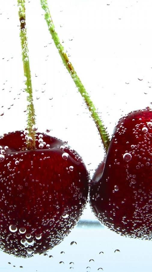 Iced Cherries