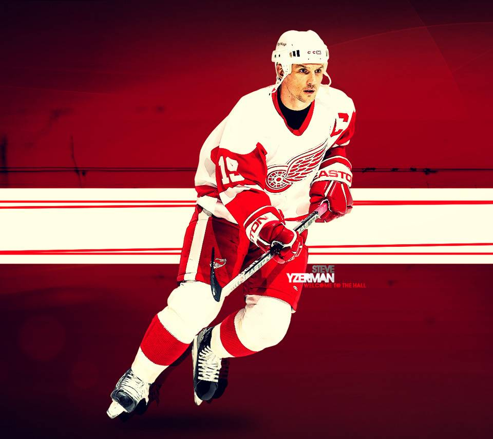Yzerman-red Wings
