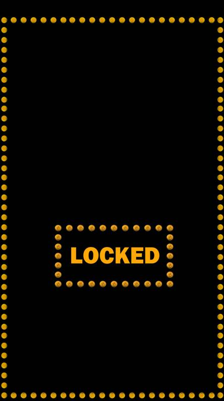 LED Locked Screen