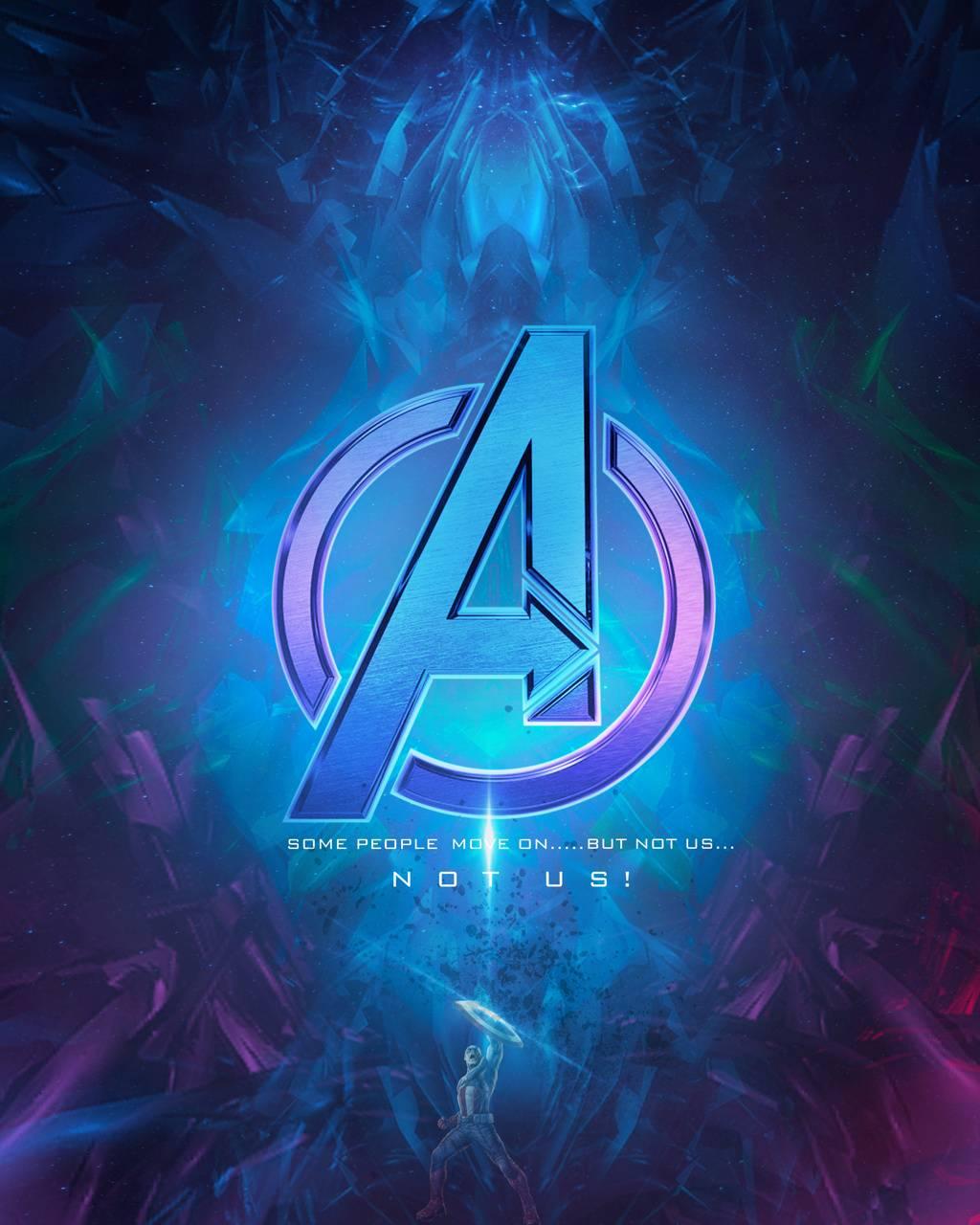 Avengers Logo Neon