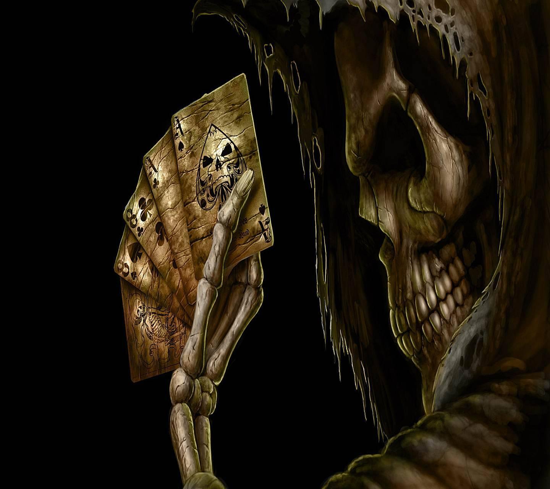 Cards Skull