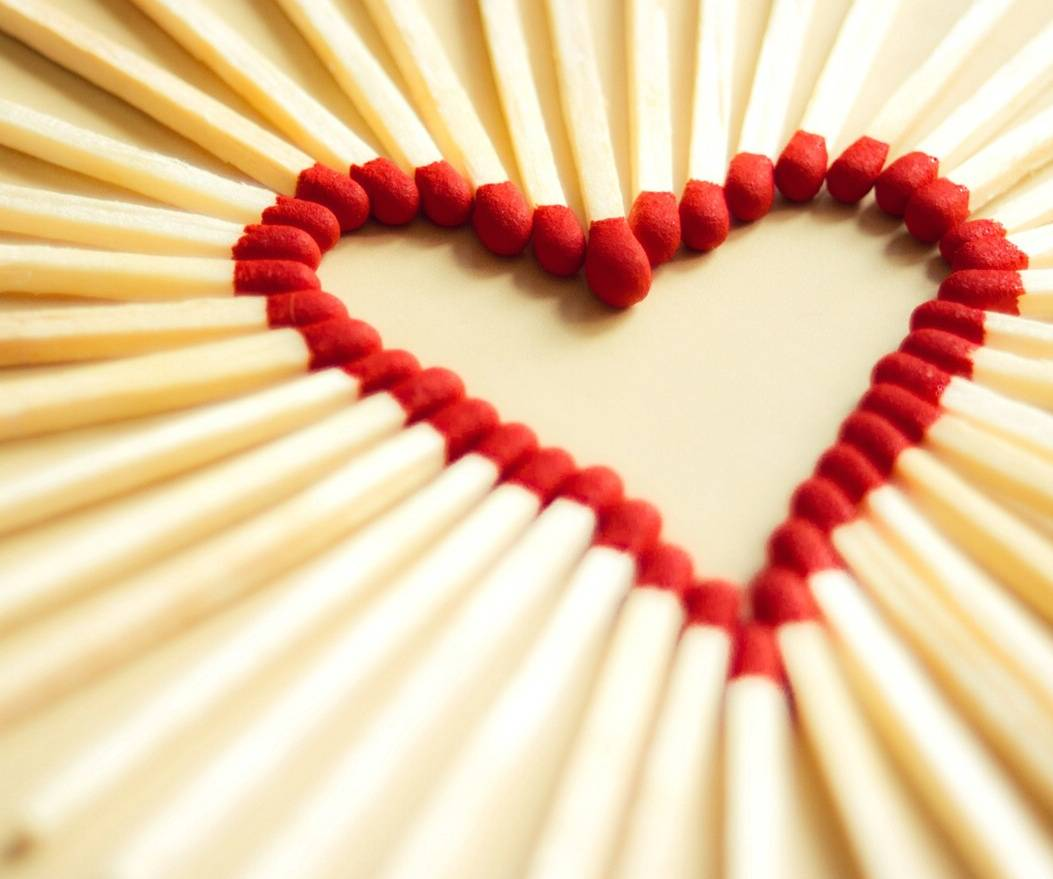 Artistic Love Heart