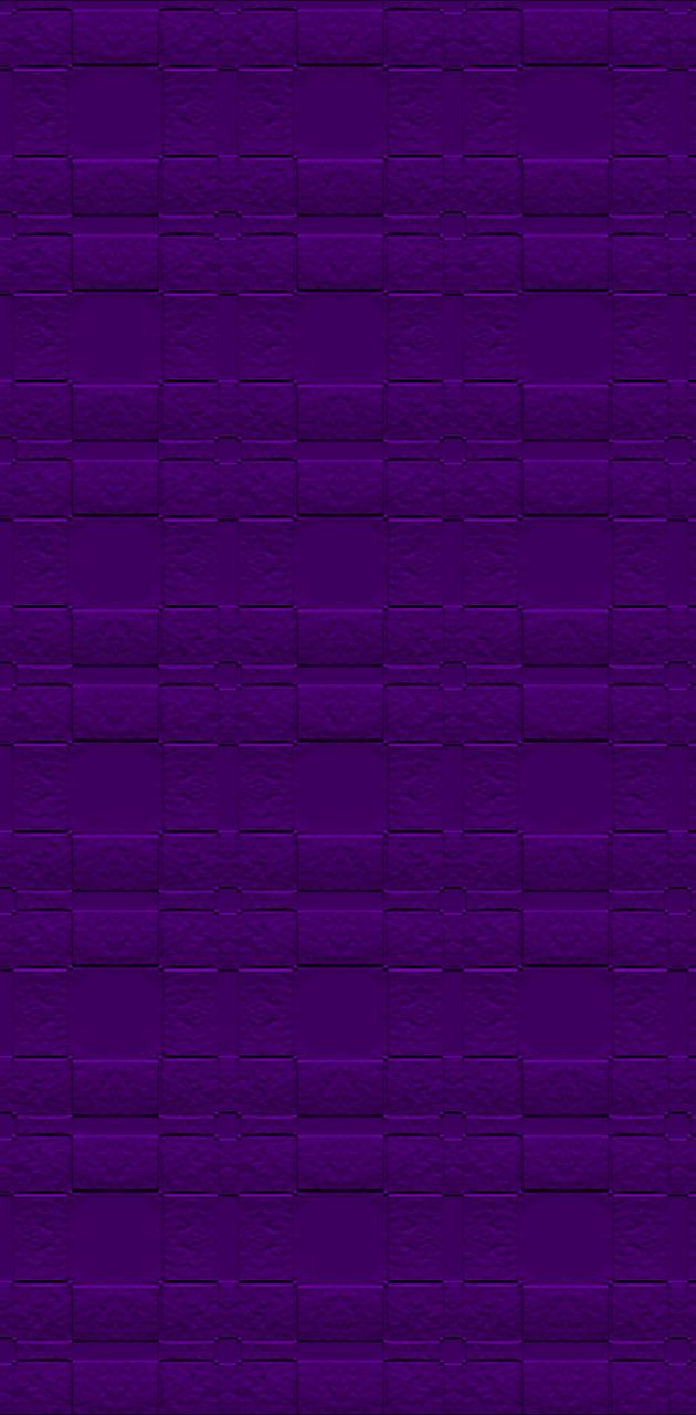 Purple Cage Wall