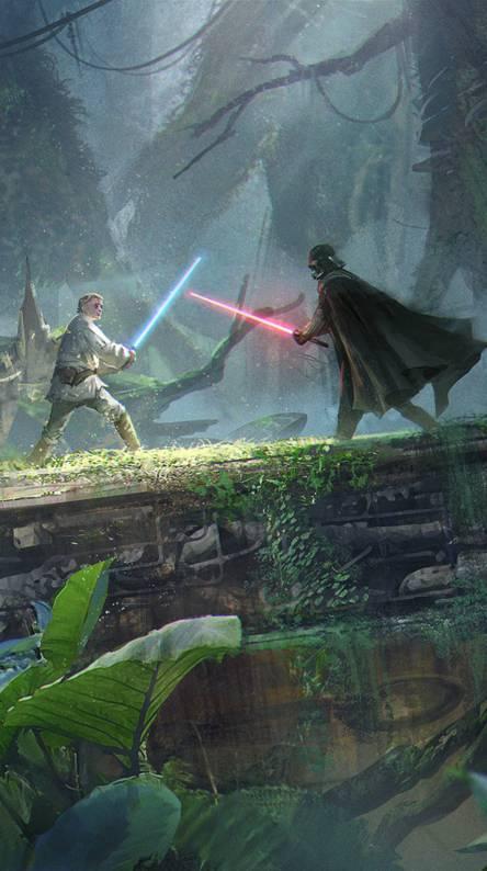 Luke vs Darth Vader