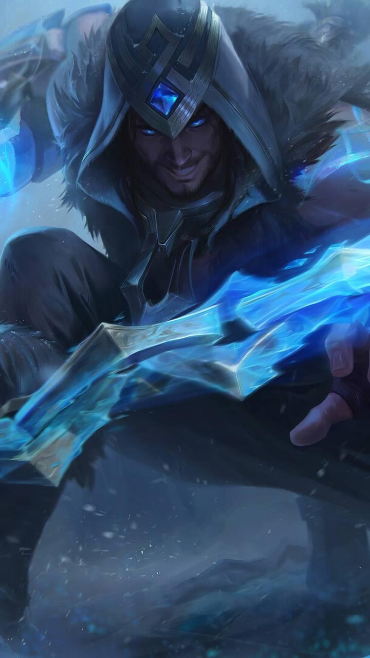 Warrior Blue Sword