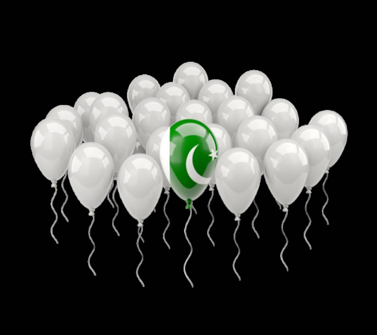 Ballons love pakista