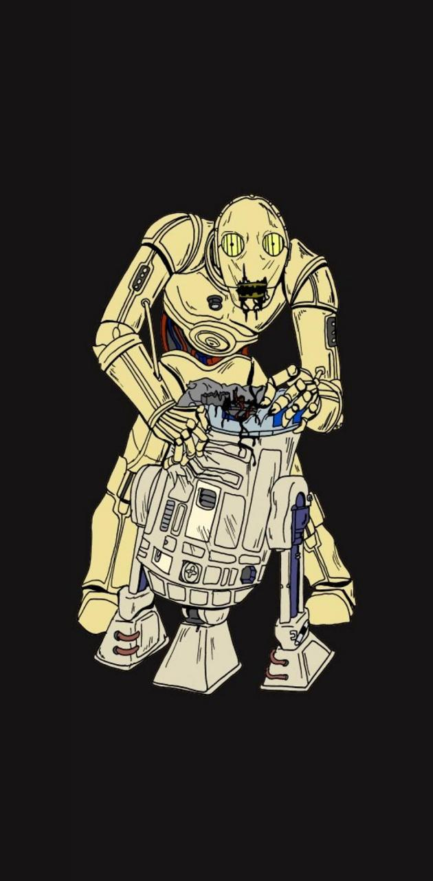 R2D2 C-3PO