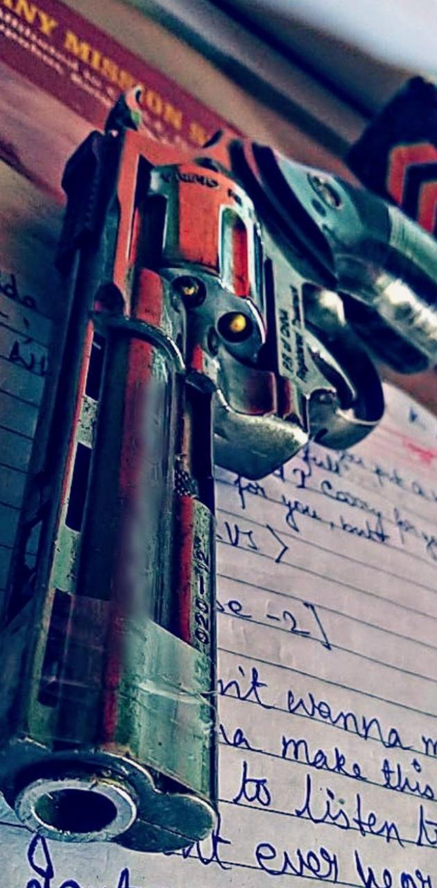 Revolver Gun by IJD