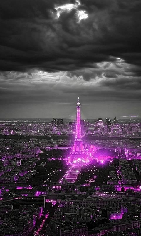 bright city night