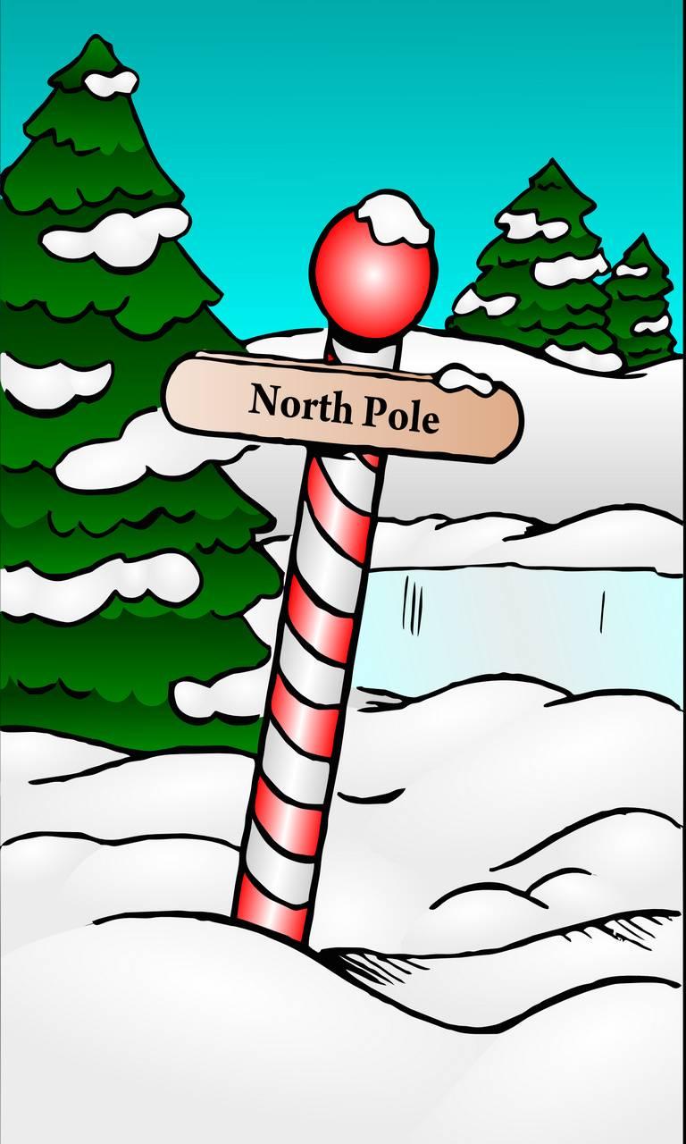 north pole xmas