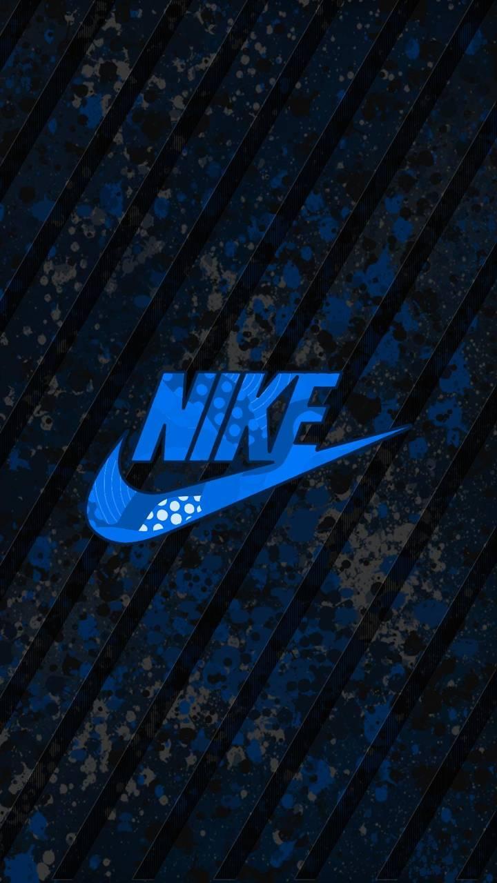 Nike blue kinda camo