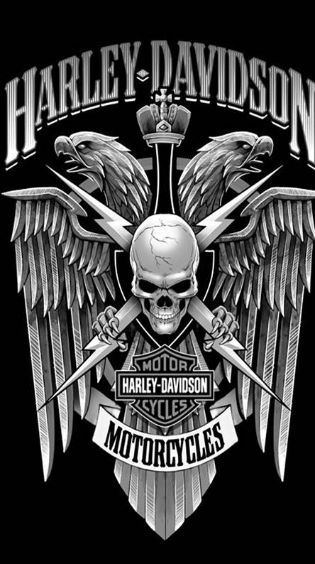 Harley davidson logo Wallpapers - Free by ZEDGE™