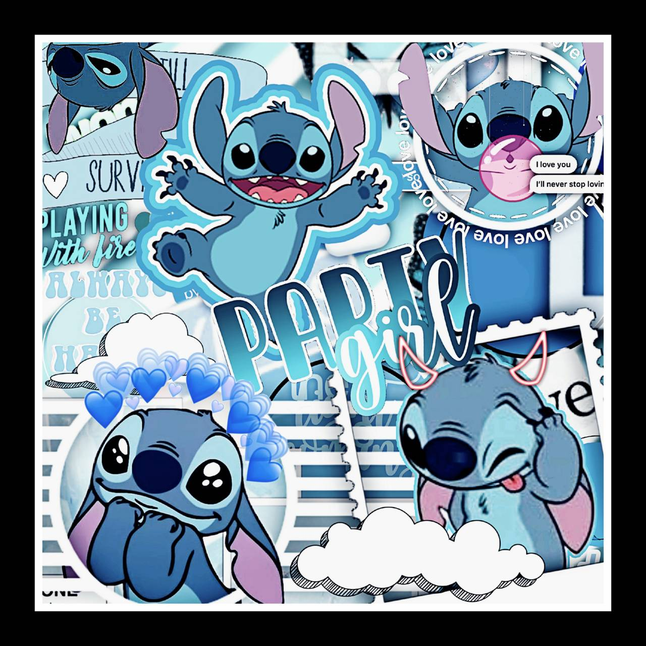Cute Stitch Wallpaper By Llamadrama2009 92 Free On Zedge Blue aesthetic wallpapers for free download. cute stitch wallpaper by llamadrama2009