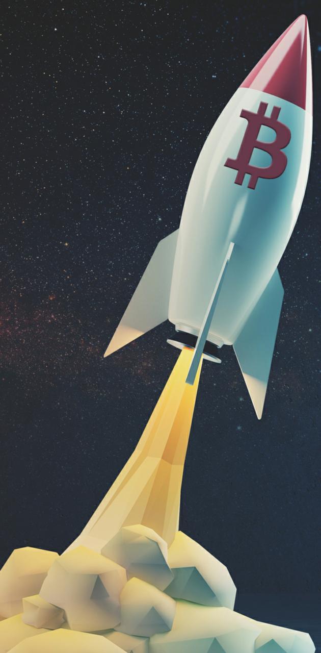 Rocket BitCoin UP
