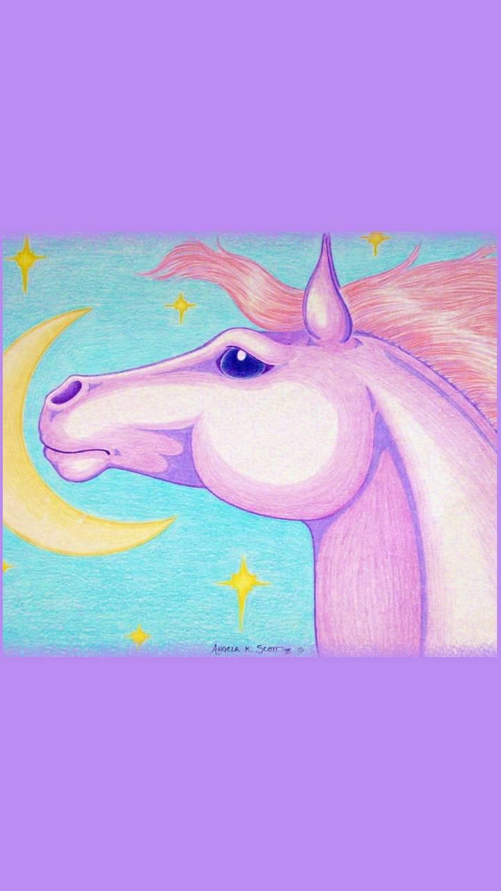 Moon Horse Art
