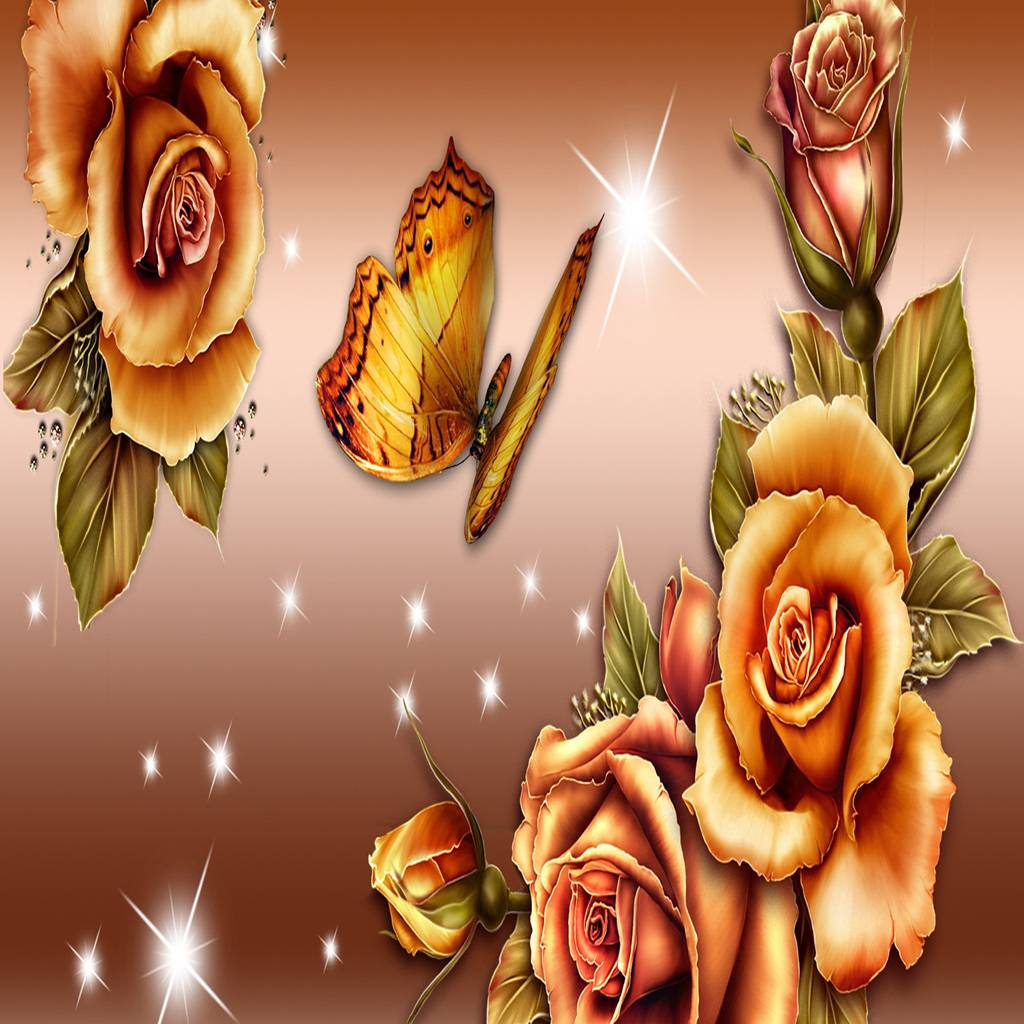 Golden Roses Shine