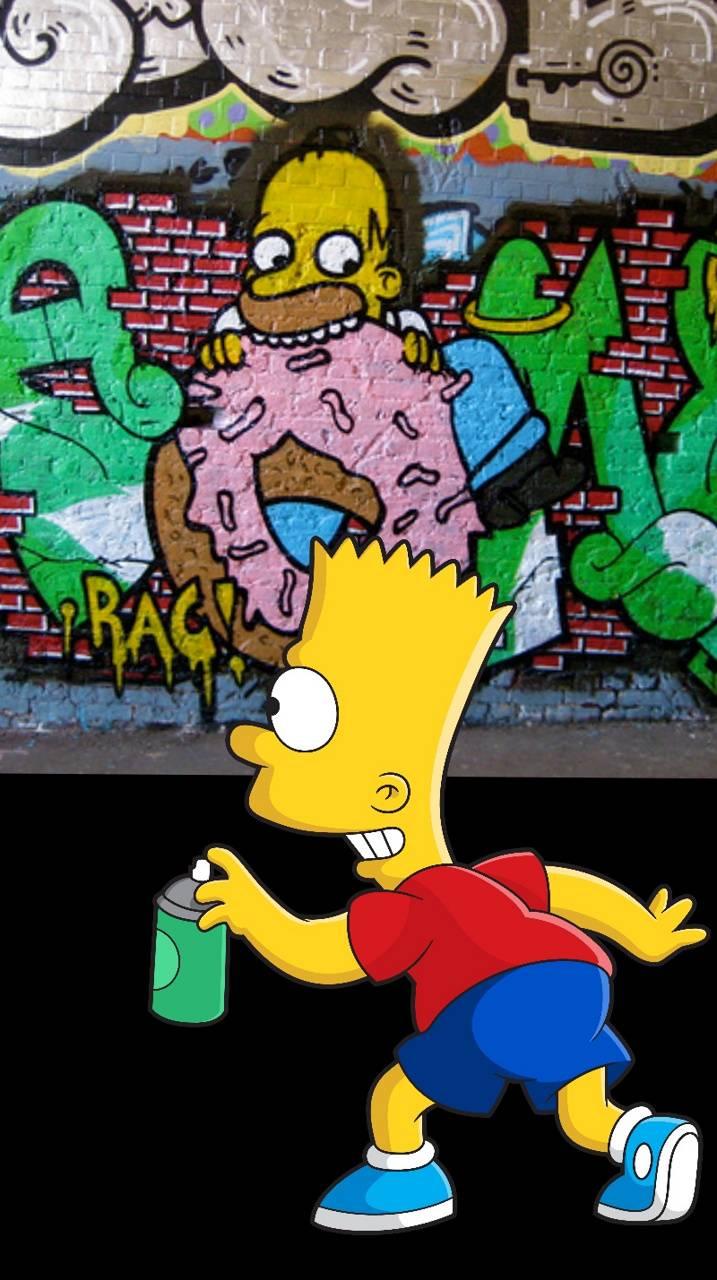 Bart graffiti