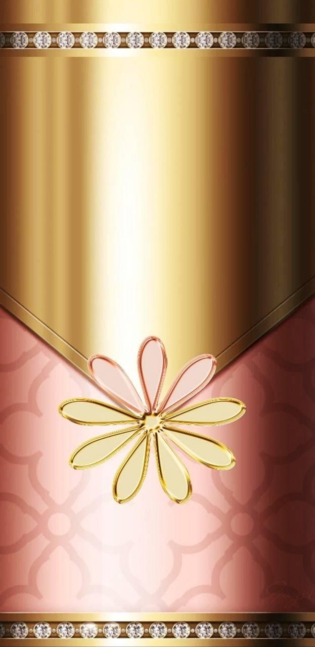 Rose Gold Floral