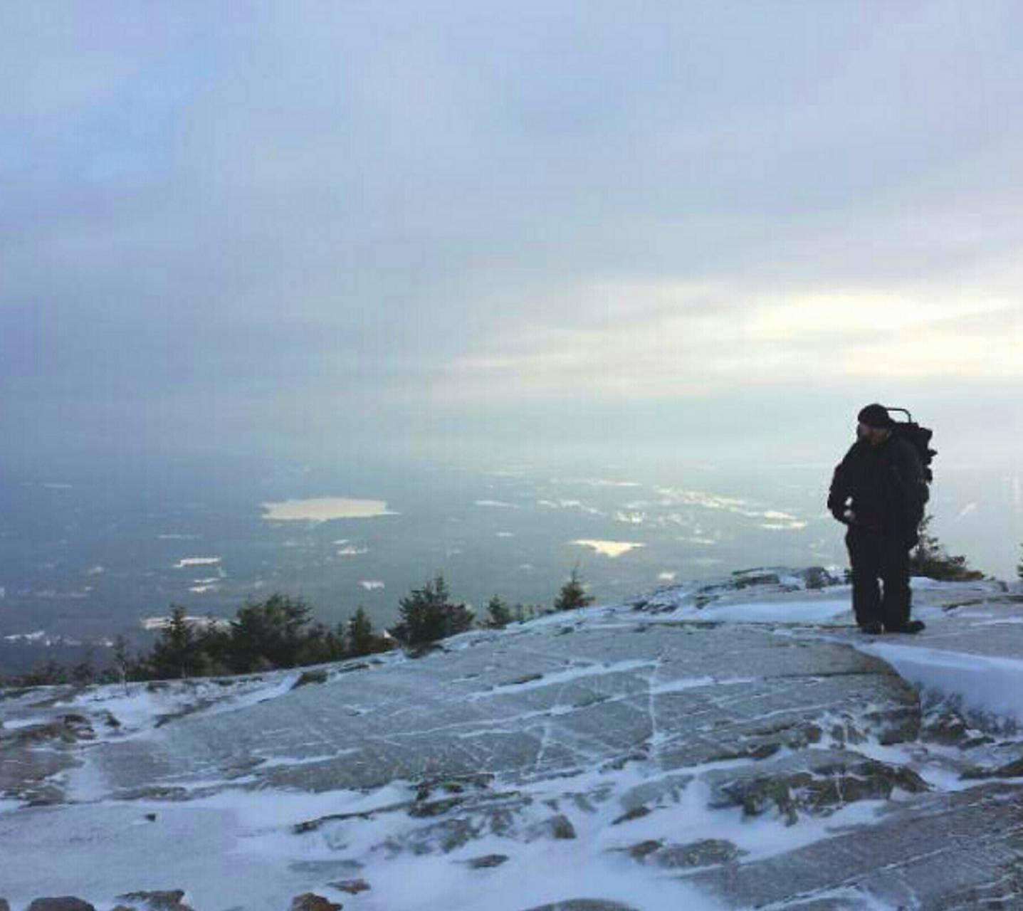 Kearsarge in Winter