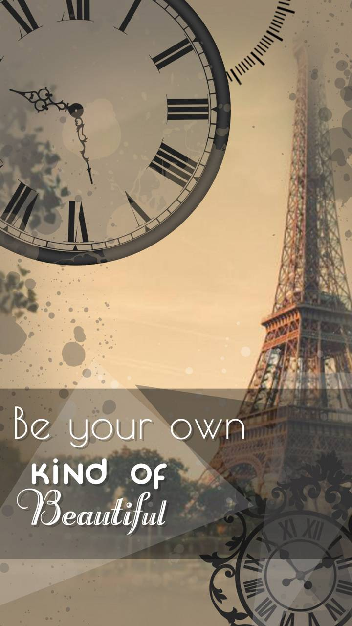 be your own kind of Wallpaper by my_kelvincent - f9 - Free
