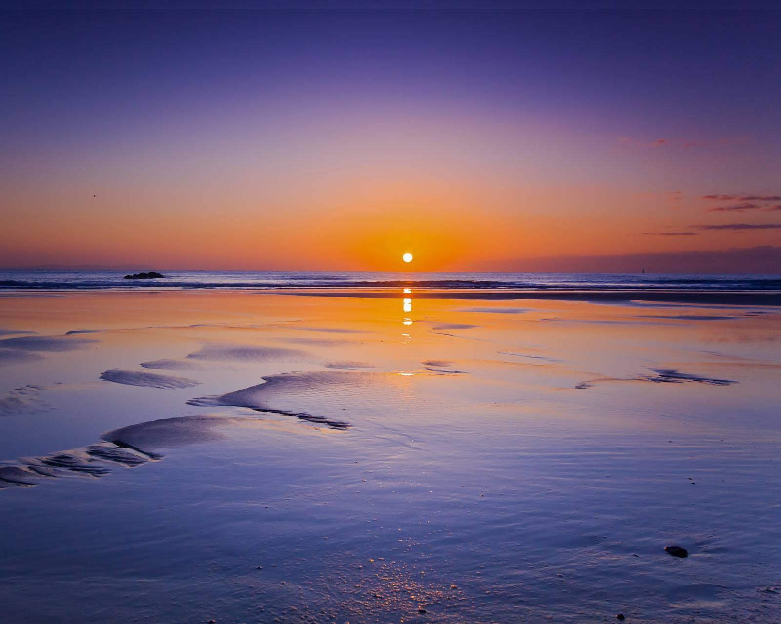 Sun Set Beach Hd