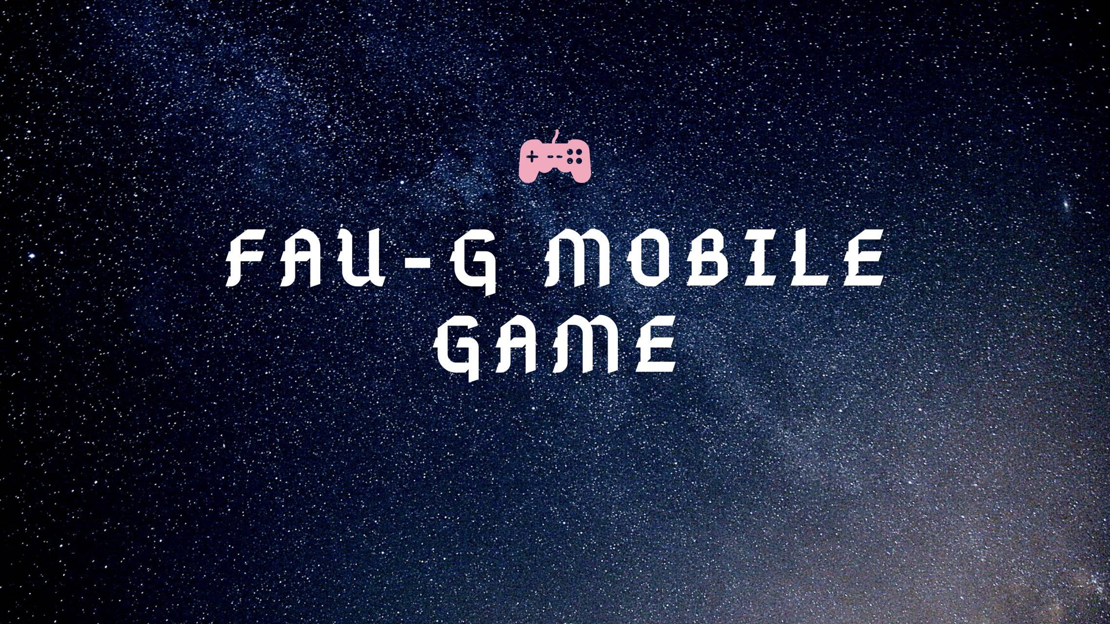 FAU-G WALLPAPER