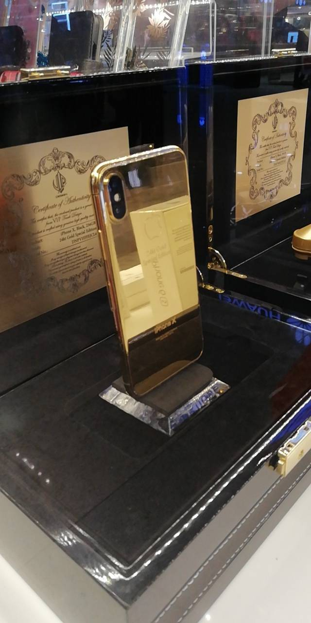 Gold Plated iphoneX