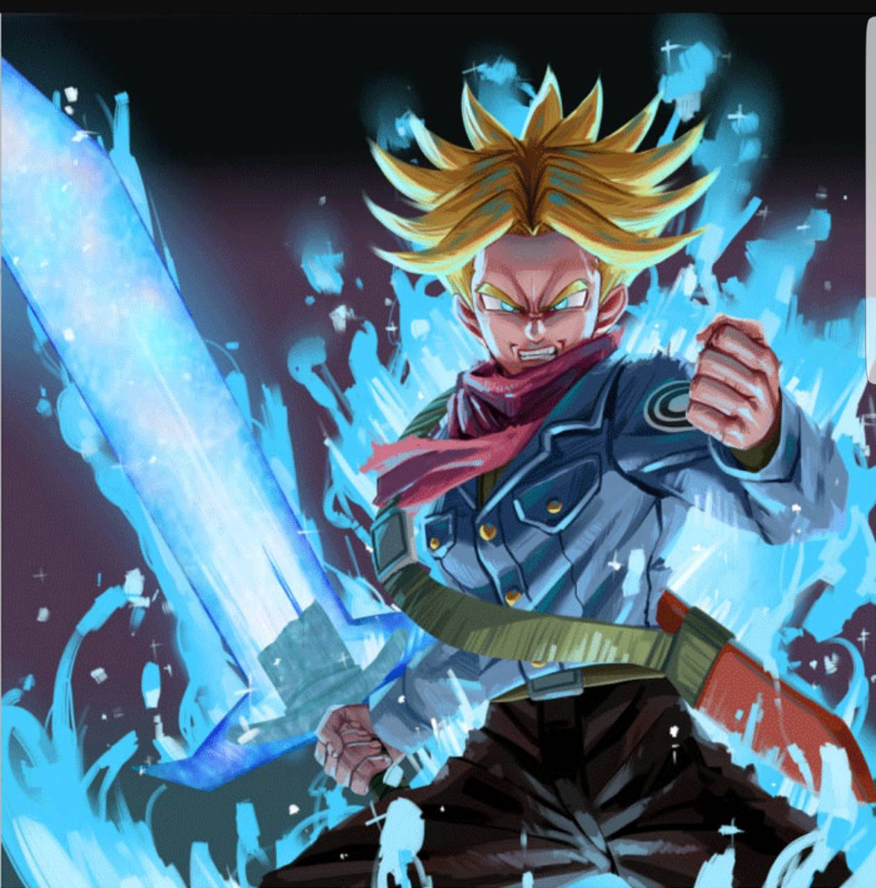 Dragon Ball Super Wallpaper Android Hd: Rage Trunks Wallpaper By WiLL2k8479