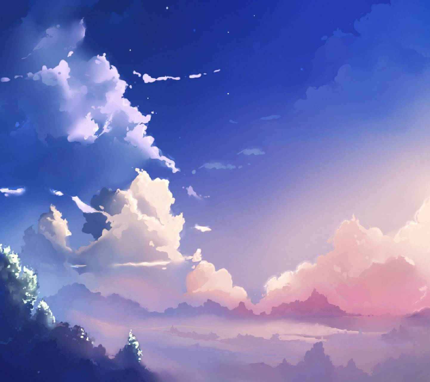 Anime Sky Wallpaper By Thegrandstaf94 A7 Free On Zedge