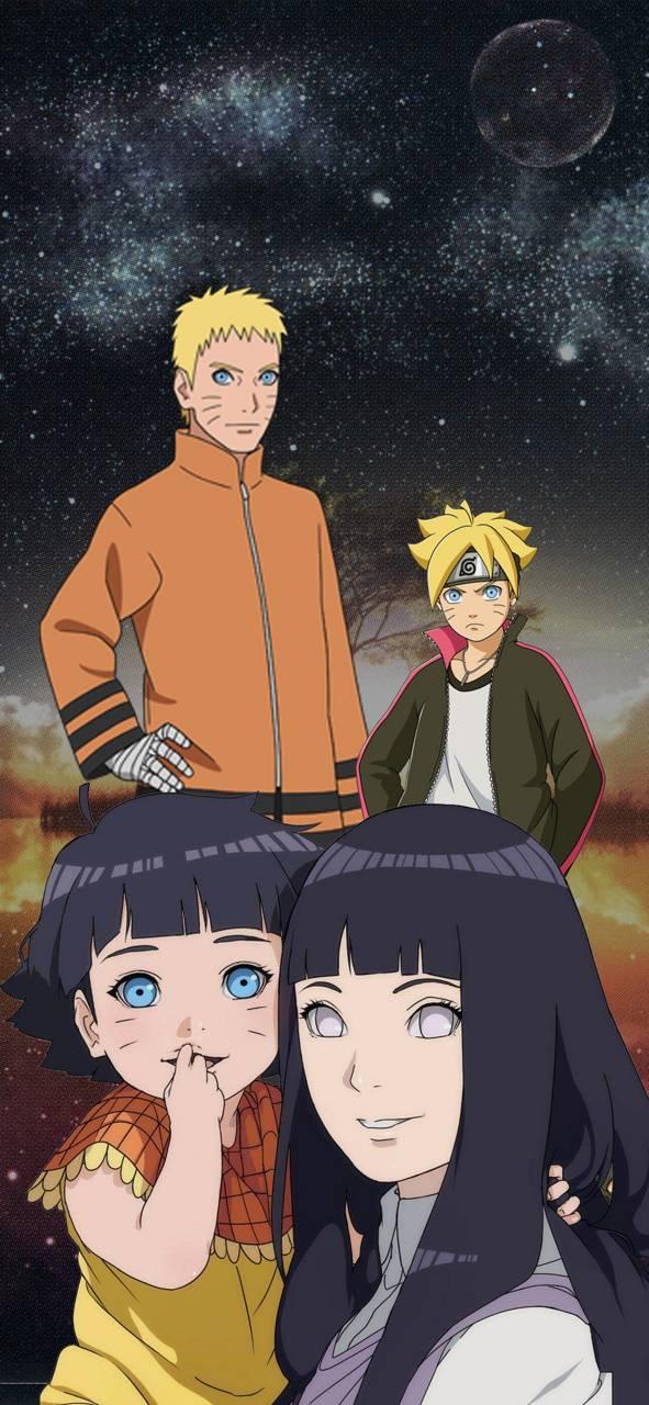 Naruto Hinata Family