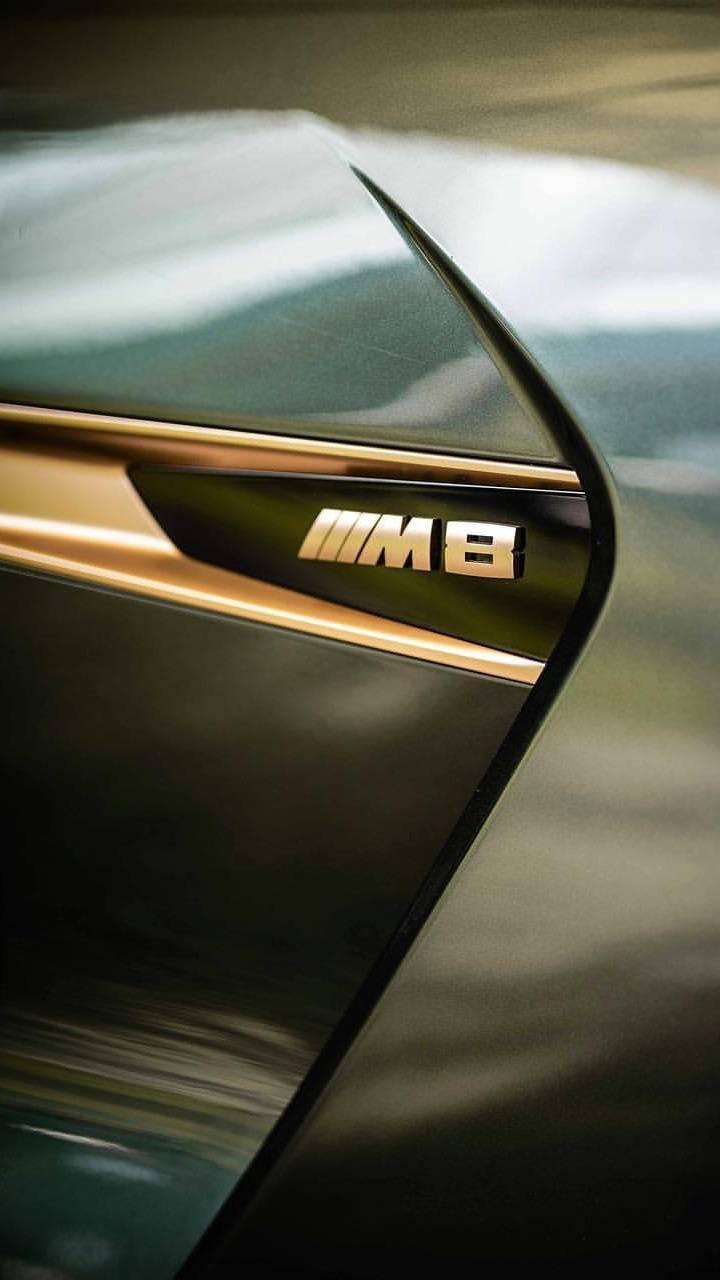 BMW M8 Badge