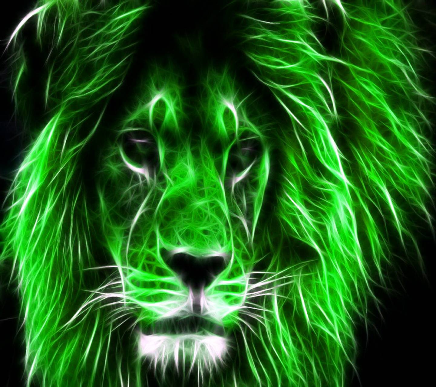 Green Lion Wallpaper By AtifSaad