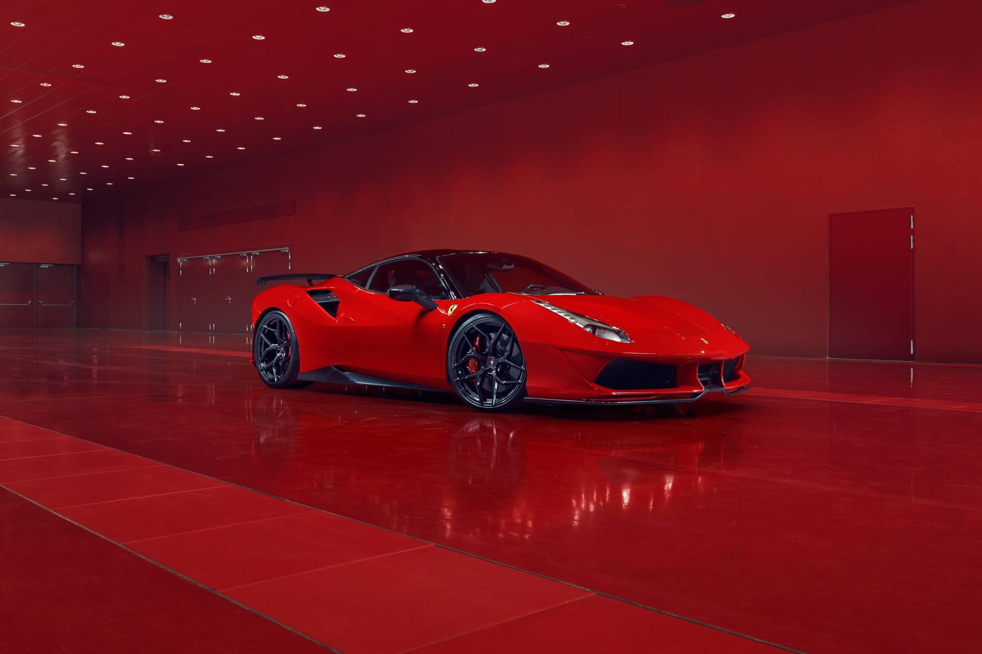 Tuned Ferrari
