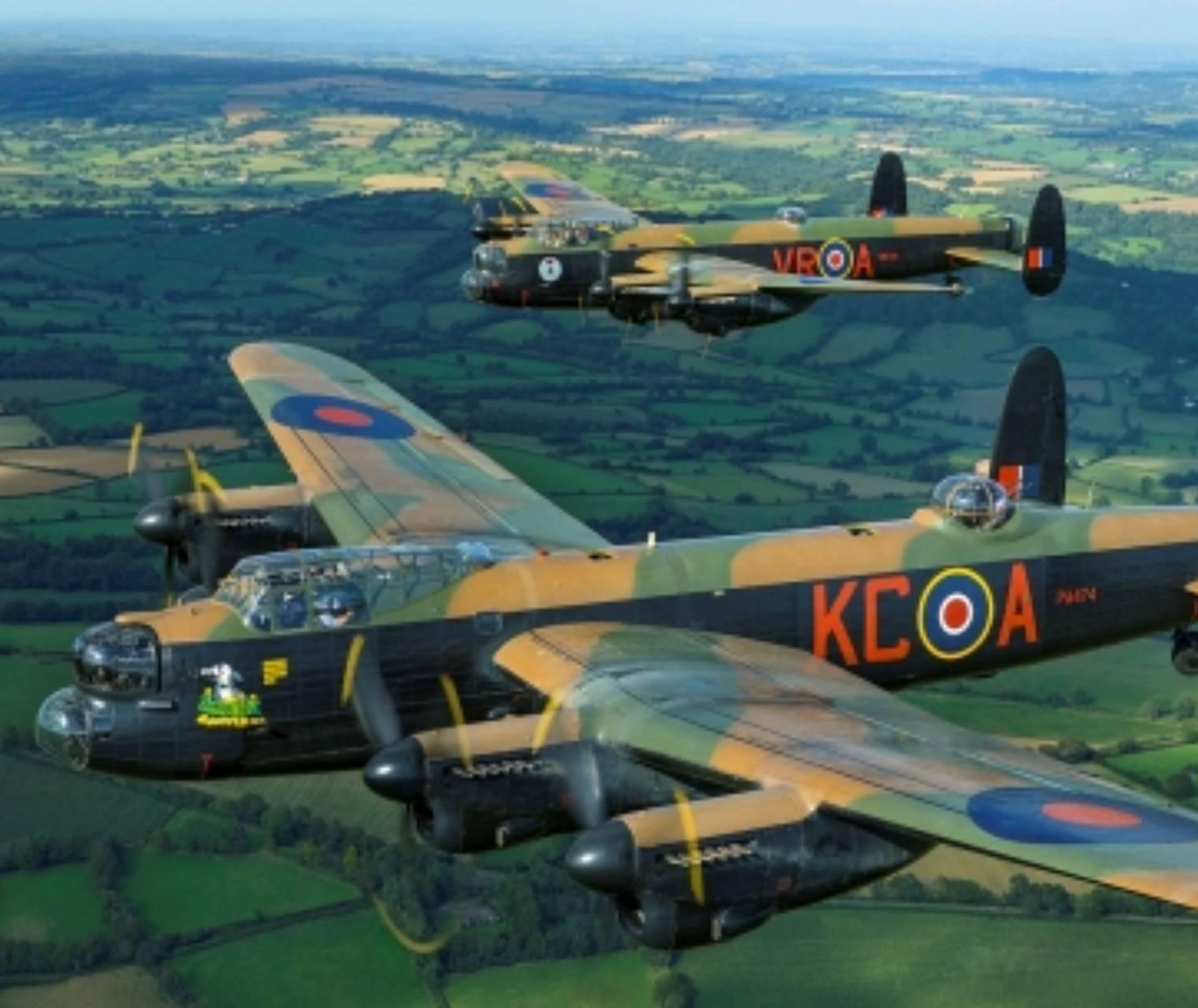 2 Lancasters