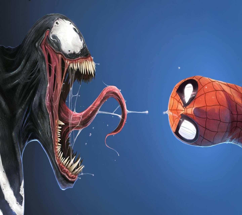 Spiderman and Venom