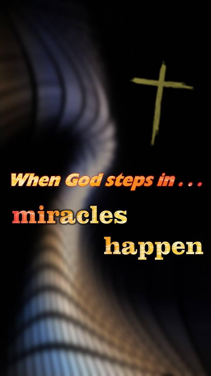 When God steps in