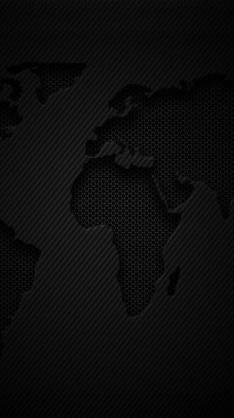 World Map Carbon