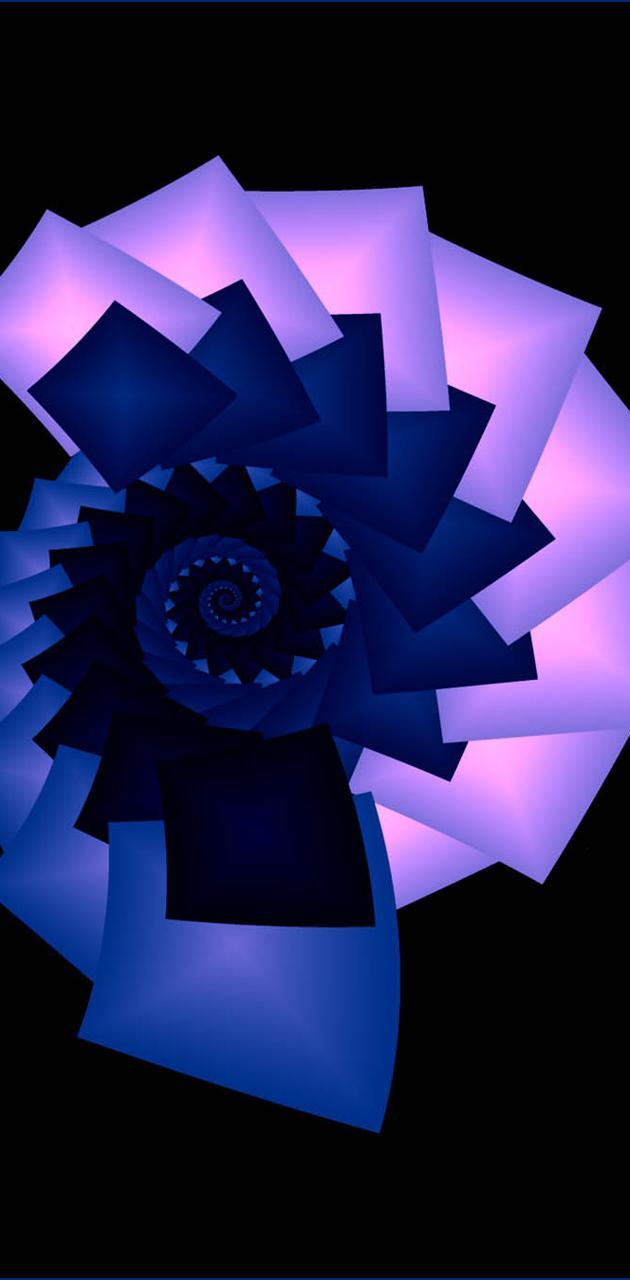 Bluepink Spiral