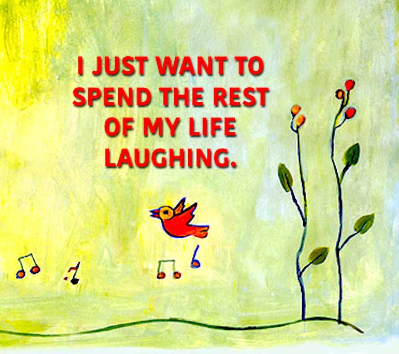 Laughing