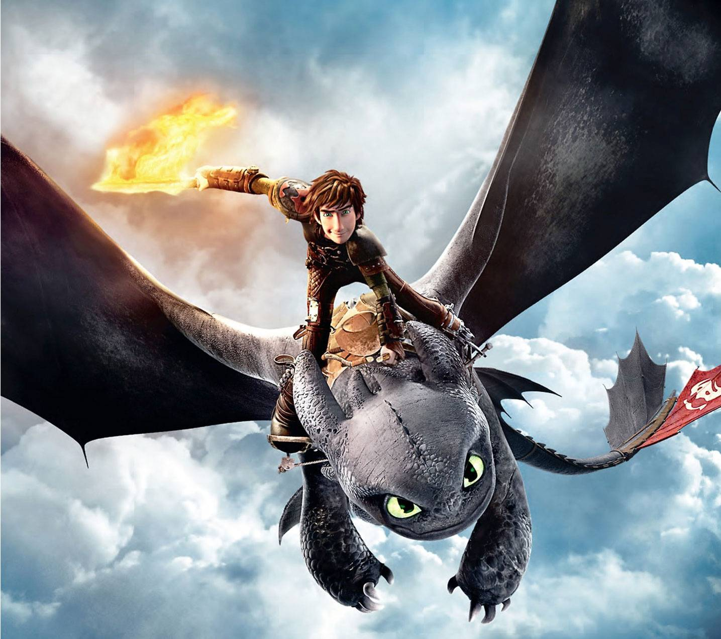 Toothless Wallpaper: Hiccup And Toothless Wallpaper By TheGrzebol